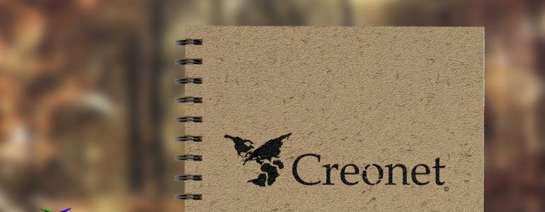 Creonet logotipa izstrāde