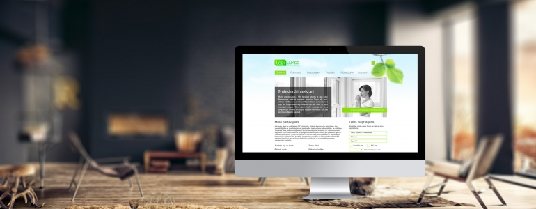 Logi Lukss identity, website design and development