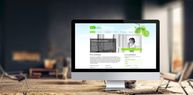 Logi Lukss identity, website design and development