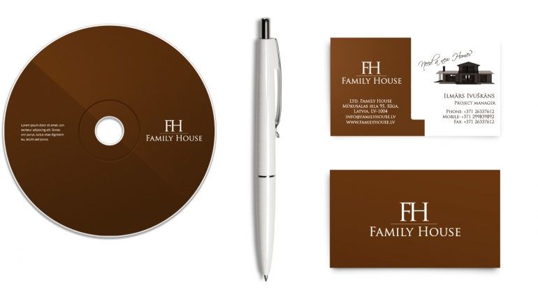 Familyhosue website design and development