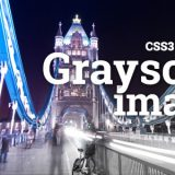 Cross-Browser Grayscale image example using CSS3 + JS v2.0. With browser feature detection using Modernizr