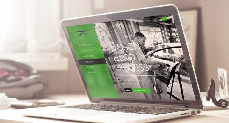 Carport design and website development