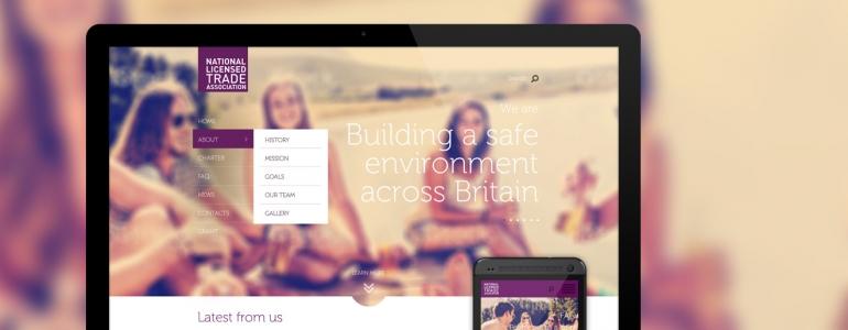 NLTA mājas lapas adaptīvais dizains