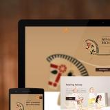 Troja adaptīvās mājas lapas dizains un html/css izstrāde