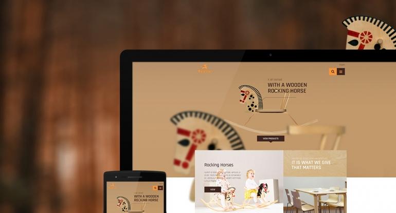 Troja adaptive website design and HTML/CSS development