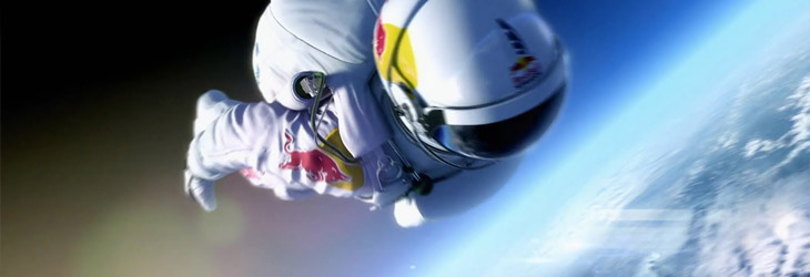 Creating stories around the brand - Red Bull Stratos Jump