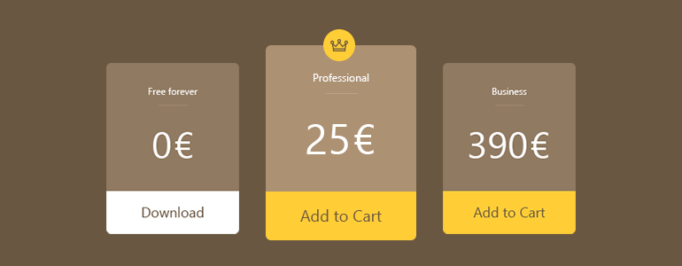 Get WooCommerce product variation price and sale price for your pricing table