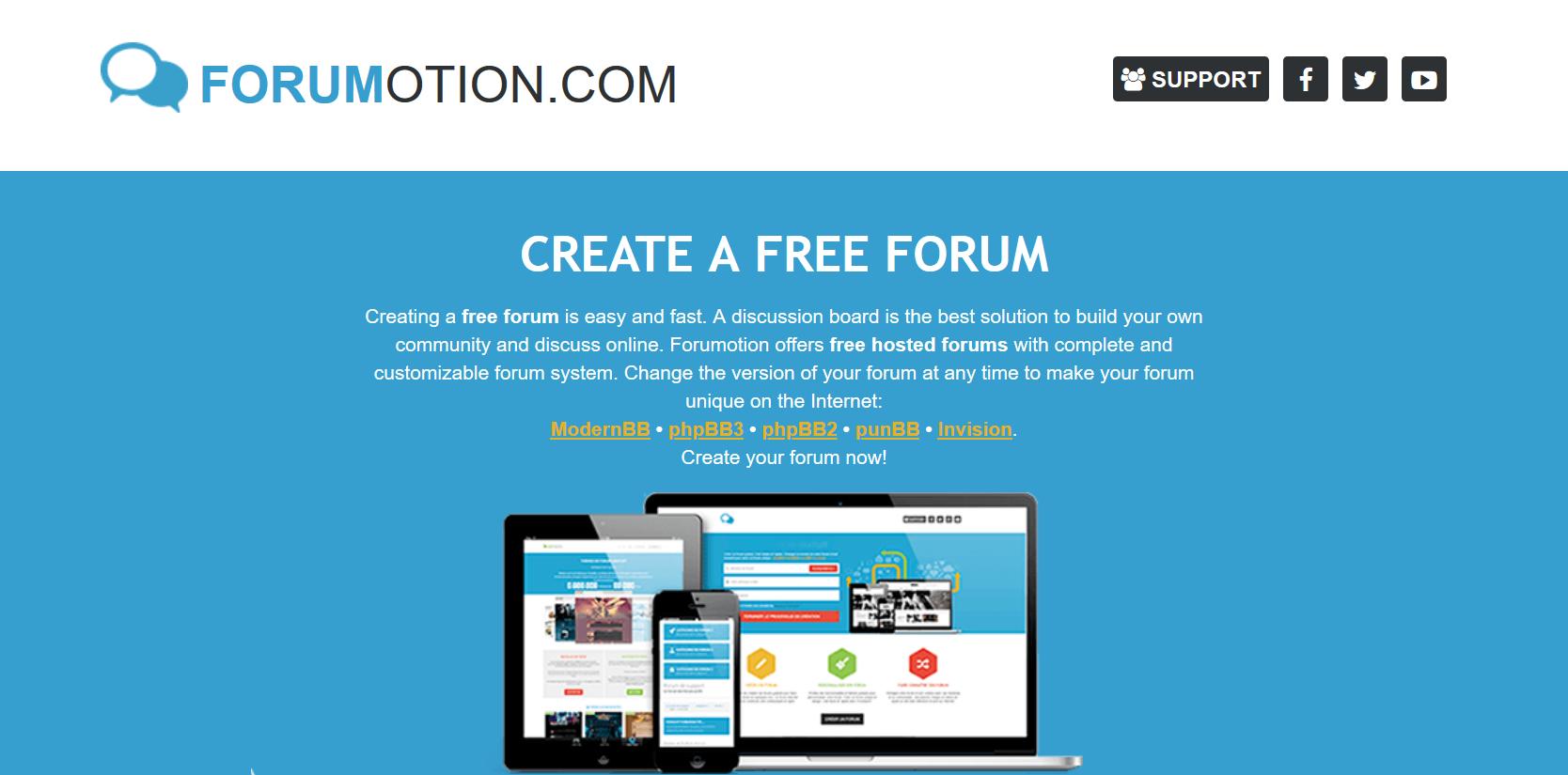 Forumotion bezmaksas forums