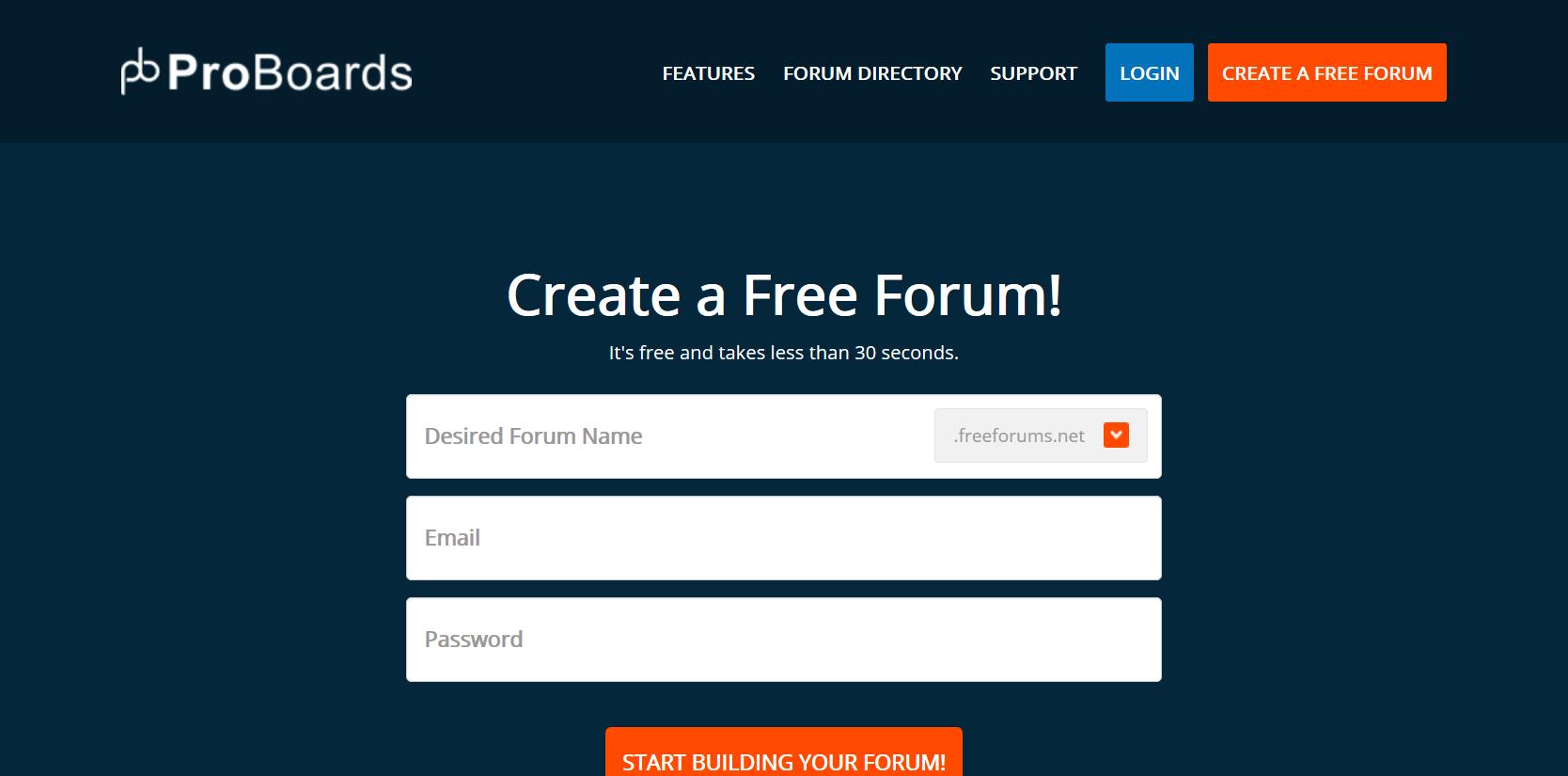 Bezmaksas forums - Proboards