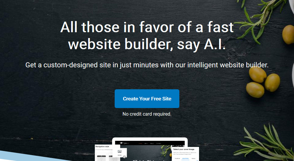 Create a website for free with Constant Contact